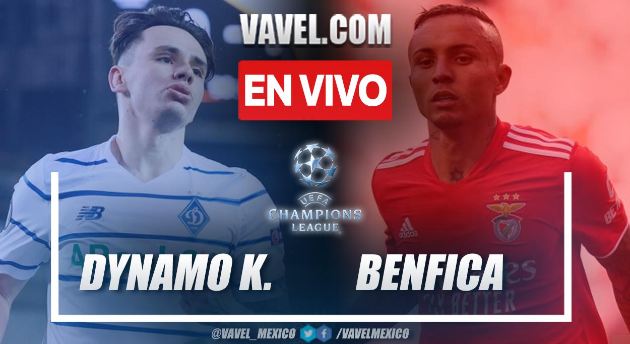 Resumen: Dinamo de Kiev 0-0 Benfica en la fecha 1 por Champions League 2021-22 | 14/09/2021 - VAVEL México