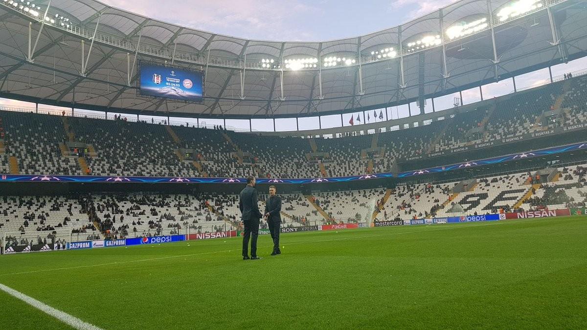 Champions League: le formazioni ufficiali di Besiktas - Bayern Monaco