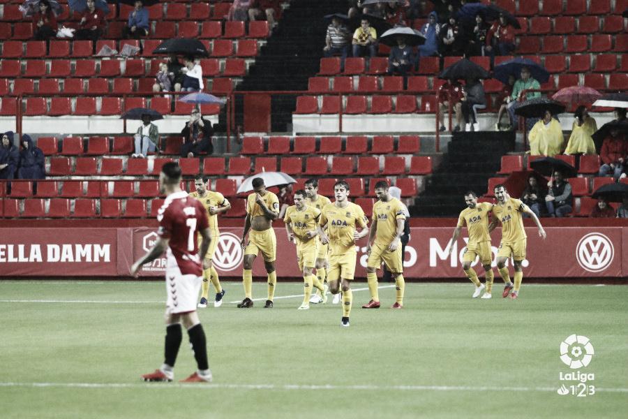 Nàstic de Tarragona - AD Alcorcón: puntuaciones del Alcorcón, jornada 9 de LaLiga1|2|3