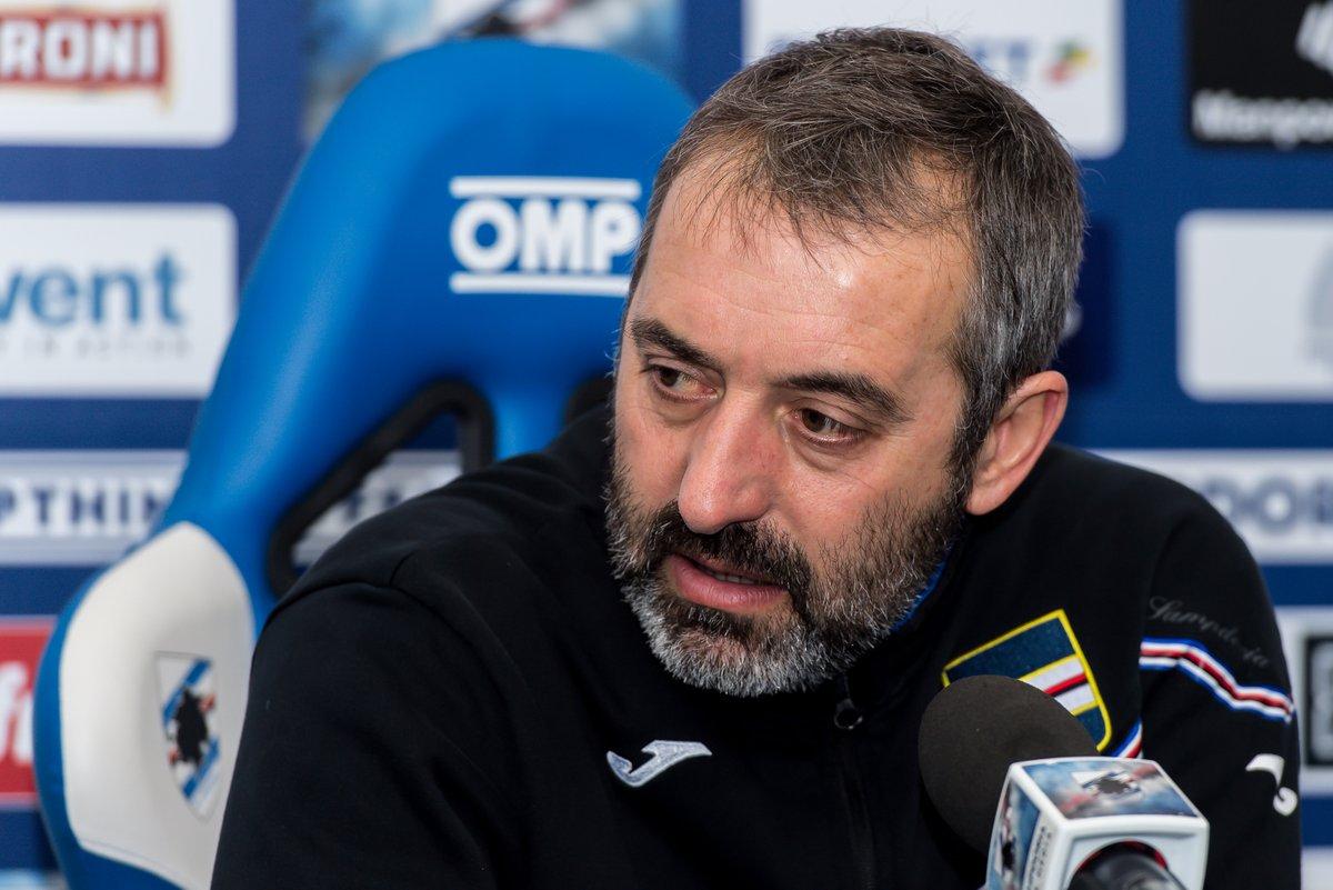 """Giampaolo: """"Il Napoli è fortissimo, ma giocheremo undici contro undici"""""""