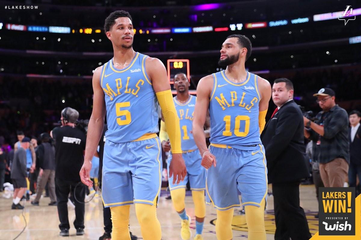 NBA - Brutta caduta di San Antonio con i Lakers