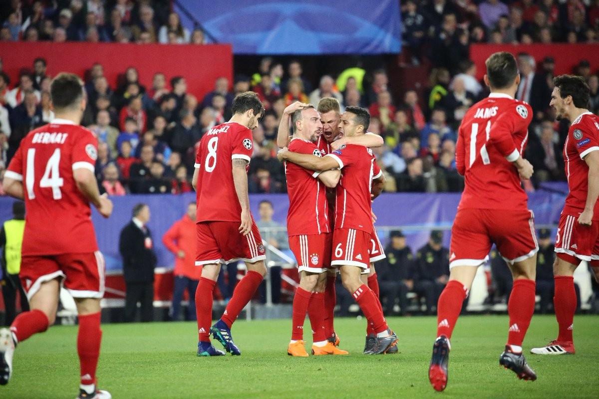 Inutile il goal di Sarabia: Bayern batte Siviglia grazie ad un autogoal e Thiago Alcantara