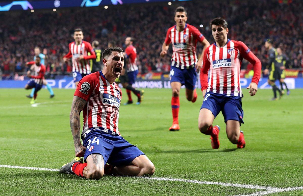 Champions League - Gimenez e Godin stendono la Juventus: 2-0 al Metropolitano