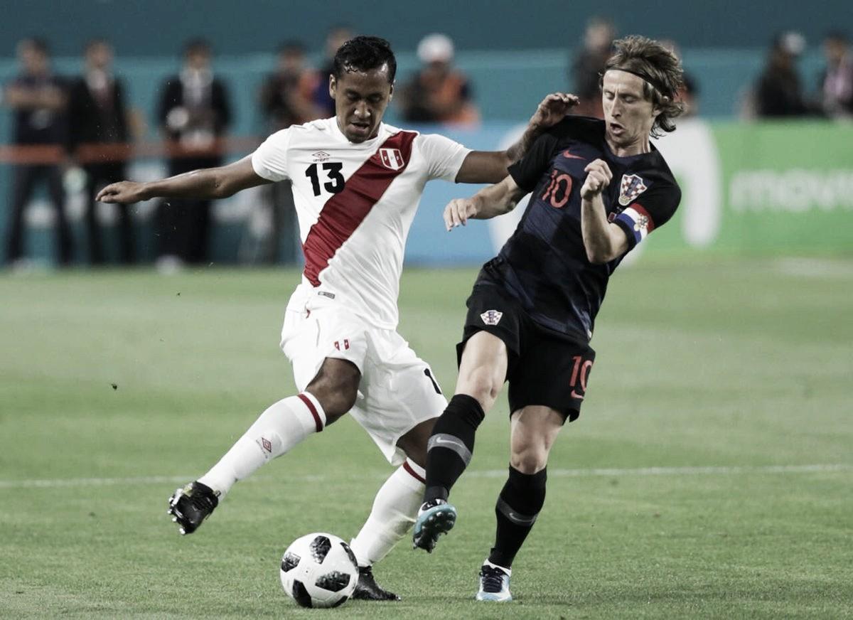 Peru joga bem e desbanca Croácia em amistoso preparatório para a Copa do Mundo
