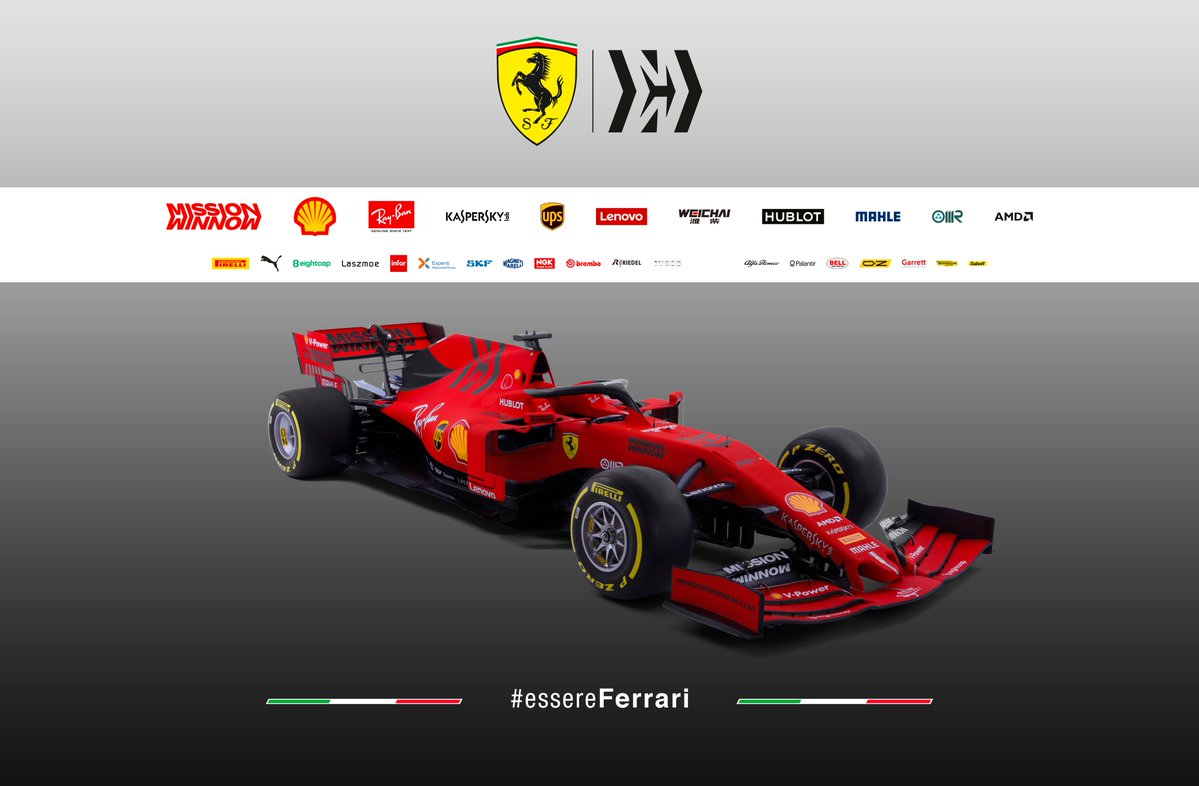 Formula 1- Ecco la nuova Ferrari SF90
