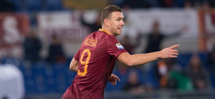 Roma, le suggestioni pre Derby: Dzeko come Batistuta?