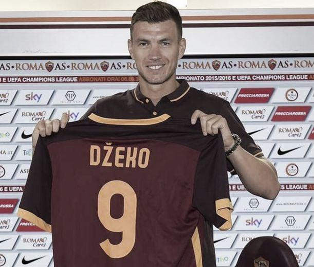"""Dzeko: """"Mi aspettavo il primato, siamo forti. Il Napoli gioca bene, la Juventus si riprenderà"""""""