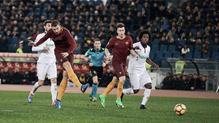 Fiorentina vs AS Roma en vivo y en directo en Serie A 2017/18
