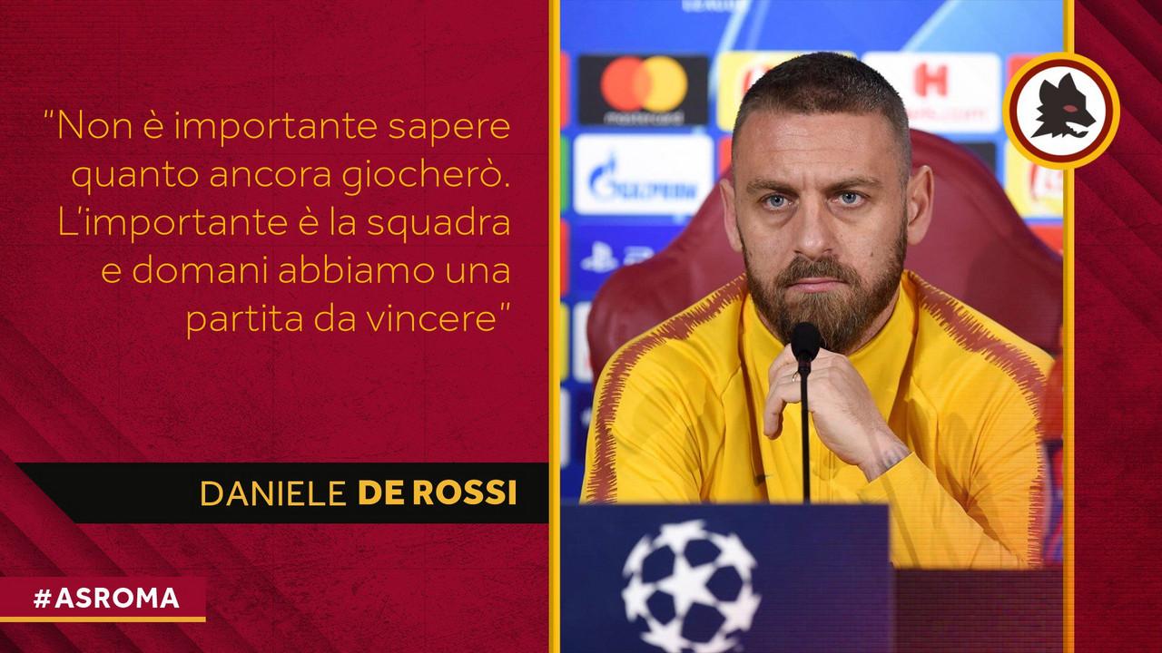 La chiave di Roma-Porto: Daniele De Rossi