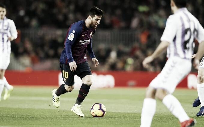 Ainda sonhando com título, Barcelona viaja para enfrentar o Valladolid