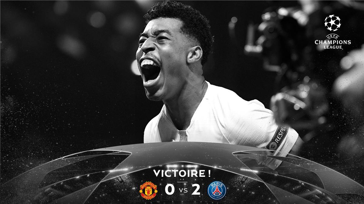 Champions League, ottavi di finale-Il PSG sa solo vincere: 2-0 allo United