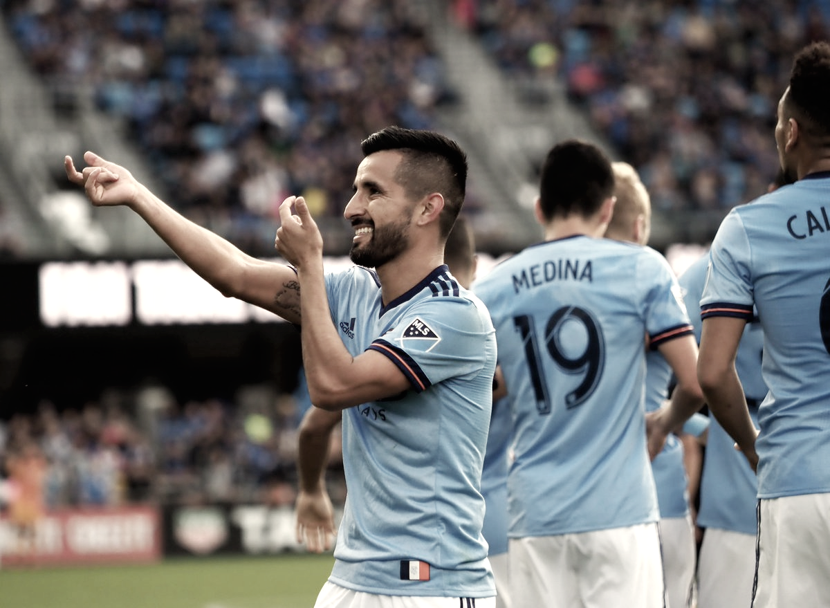 New York City FC come from behind vs Earthquakes to remain unbeaten