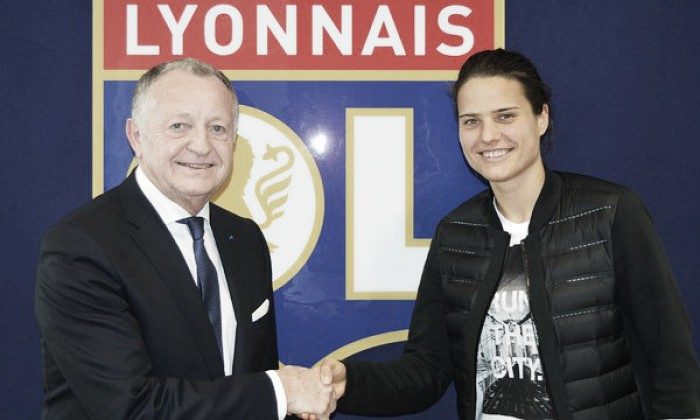 Dzsenifer Marozsan heads to Olympique Lyonnais