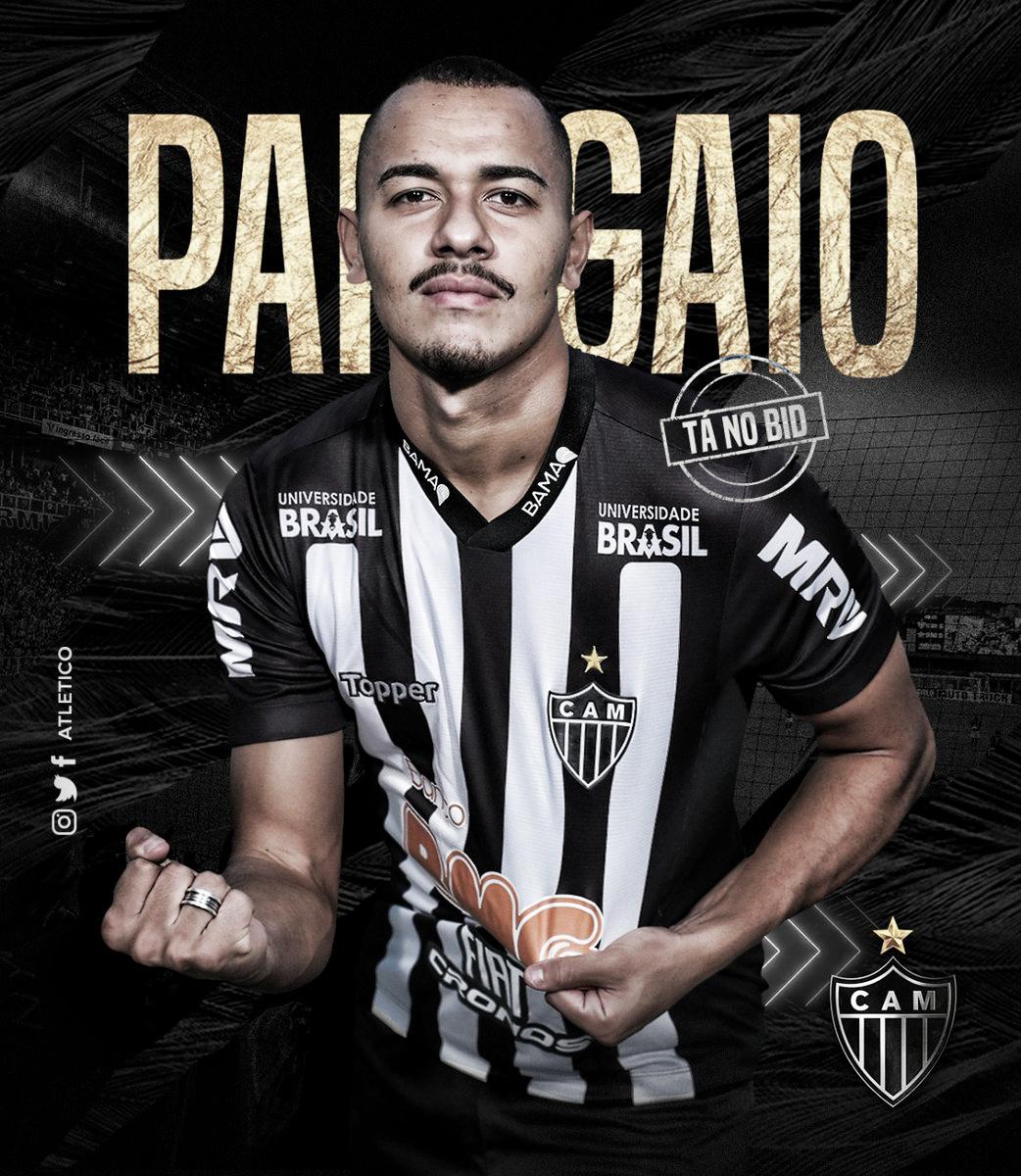 Atlético-MG oficializa contratação de Rafael Papagaio por empréstimo até o fim do ano