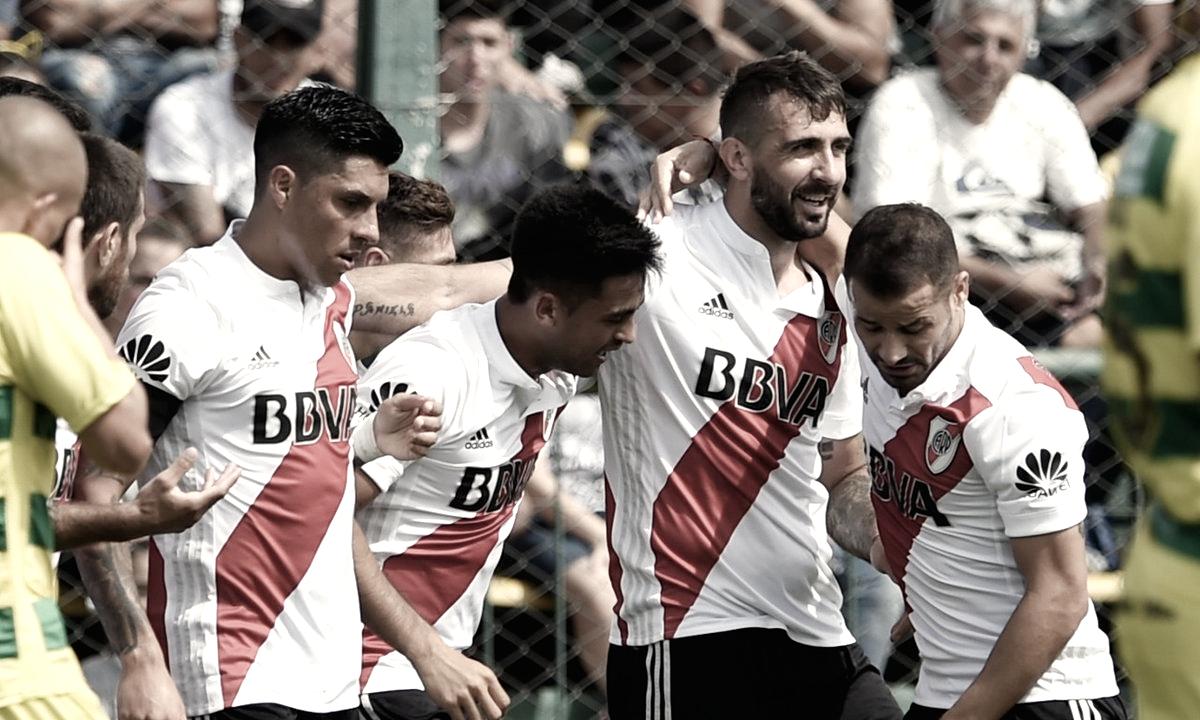 River Plate vence Defensa y Justicia de virada e fica a sete pontos da zona da Libertadores