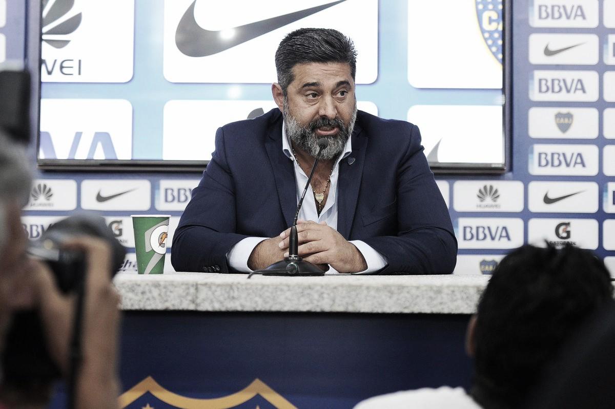 """Daniel Angelici: """"No me gustó el desahogo en el gol"""""""