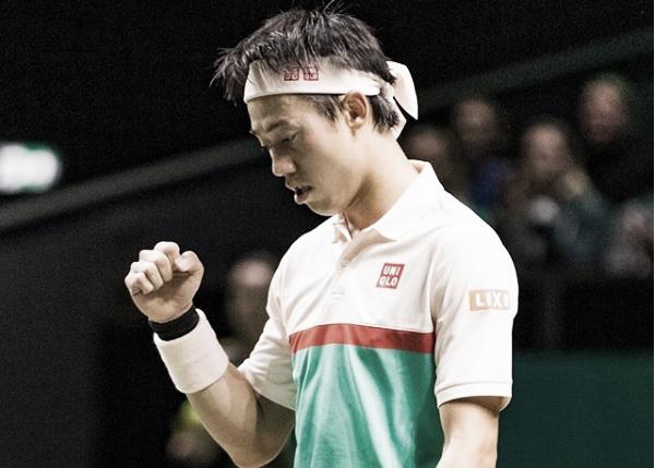 Nishikori se mete en cuartos sin apuros