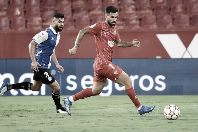 El Sevilla conquista el duelo amistoso ante el Deportivo Alavés