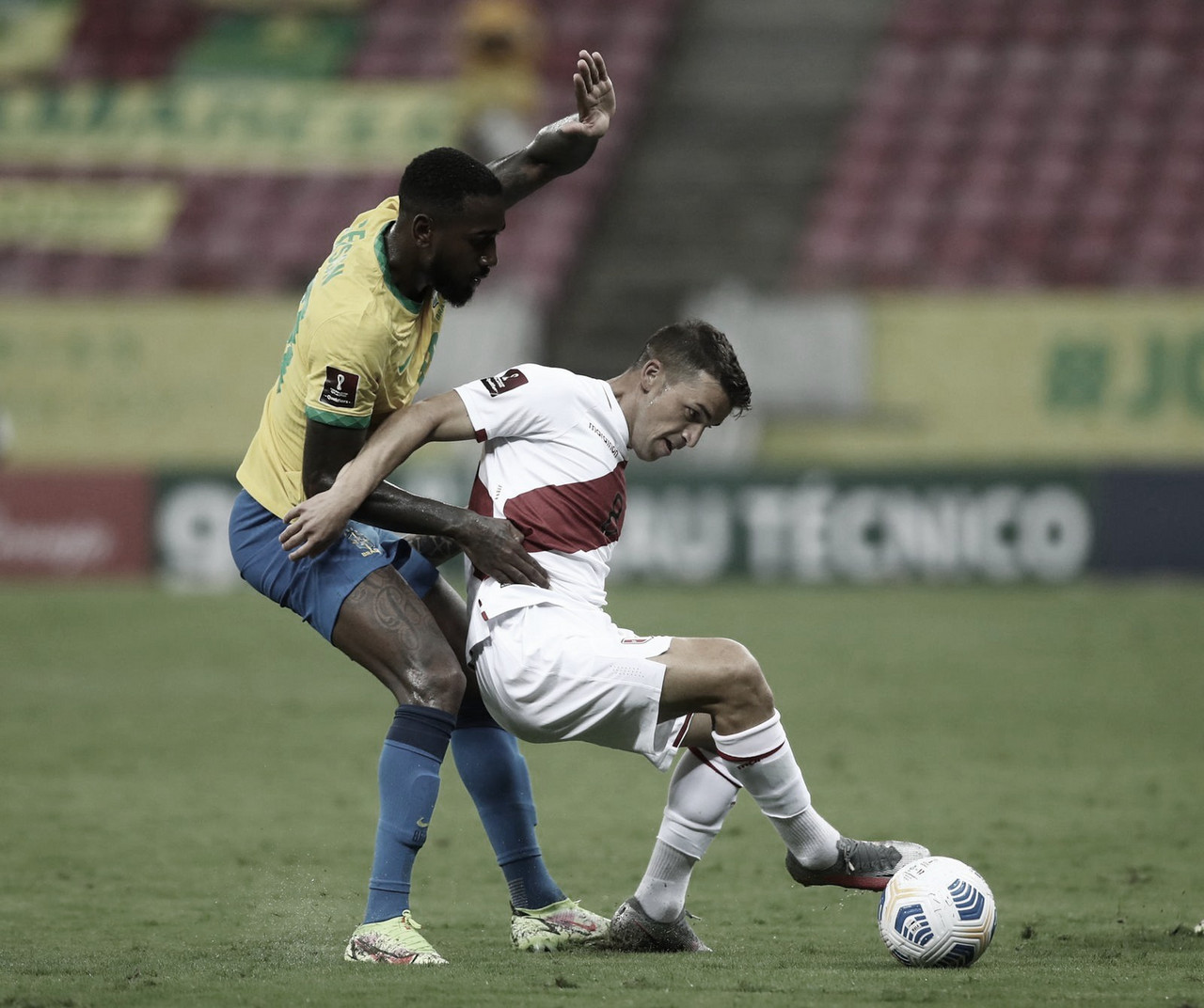 Brasil 2-0 Perú: la blanquirroja vuelve a complicarse camino a Qatar 2022