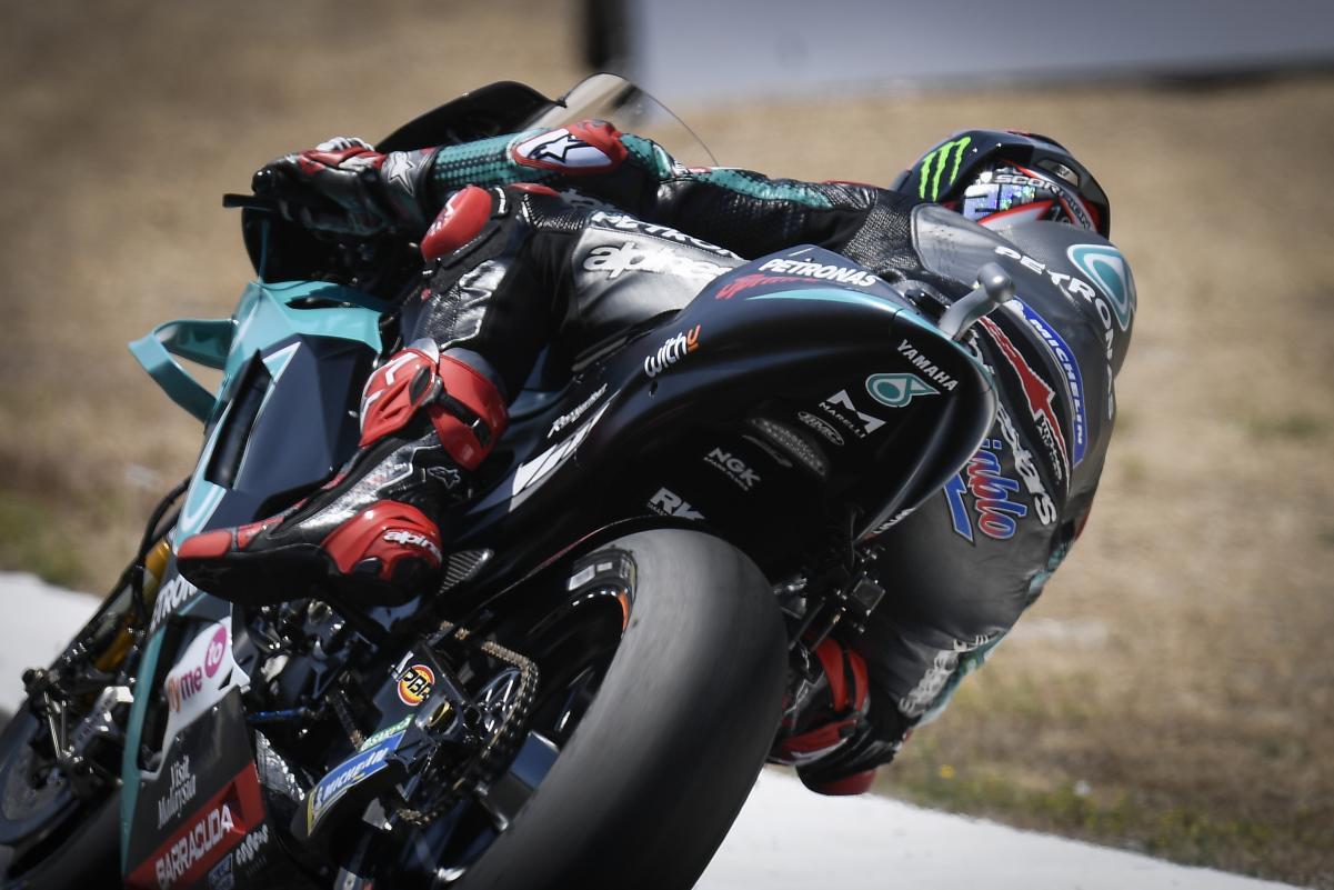 El truco de los neumáticos que Yamaha siguió en el GP de Andalucía