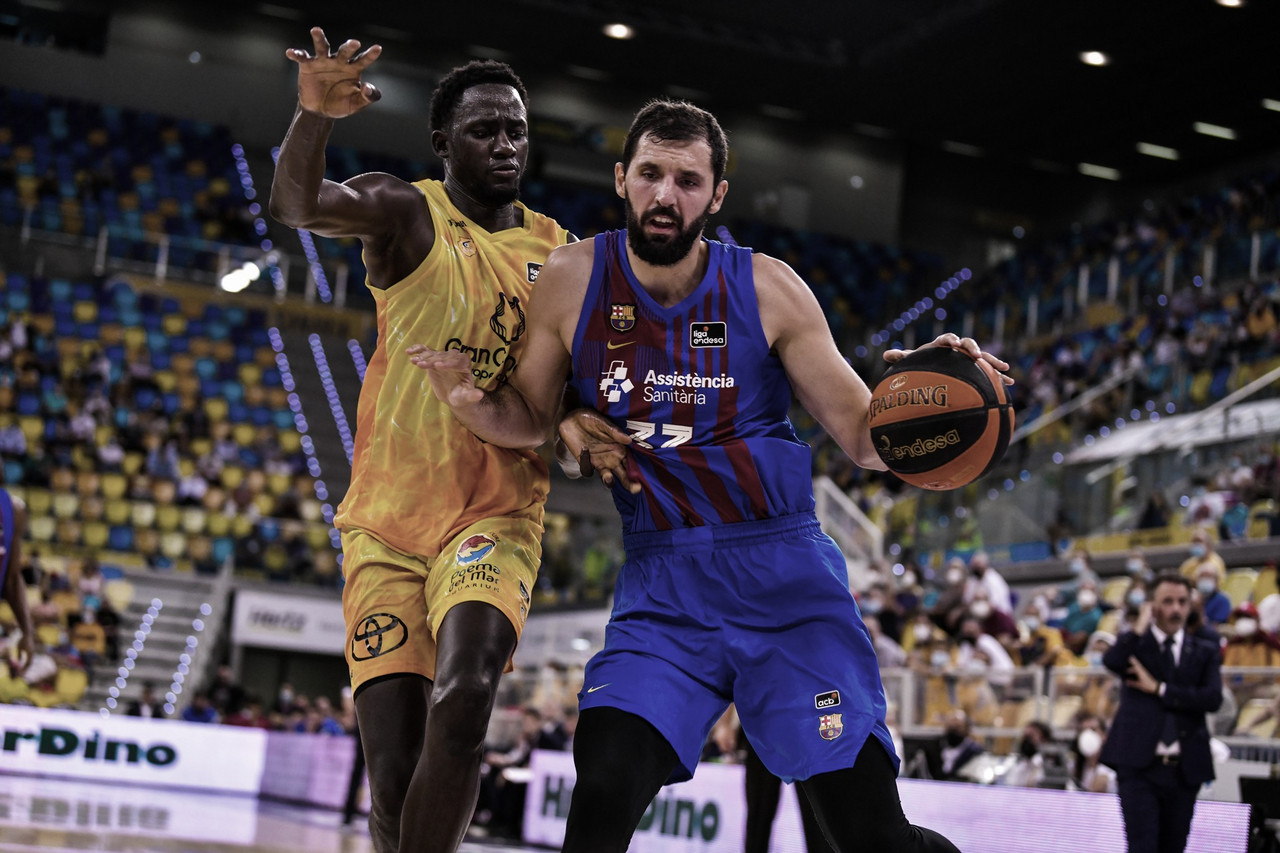 El Barça Basket no da opción al Gran Canaria (64-82)