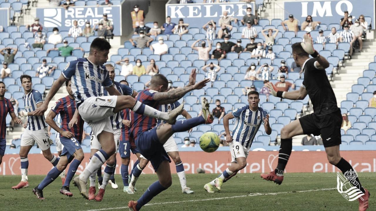 Real Sociedad B 2-3 SD Eibar: Puntuaciones de la Real Sociedad B en la jornada 5 de la Liga Smartbank