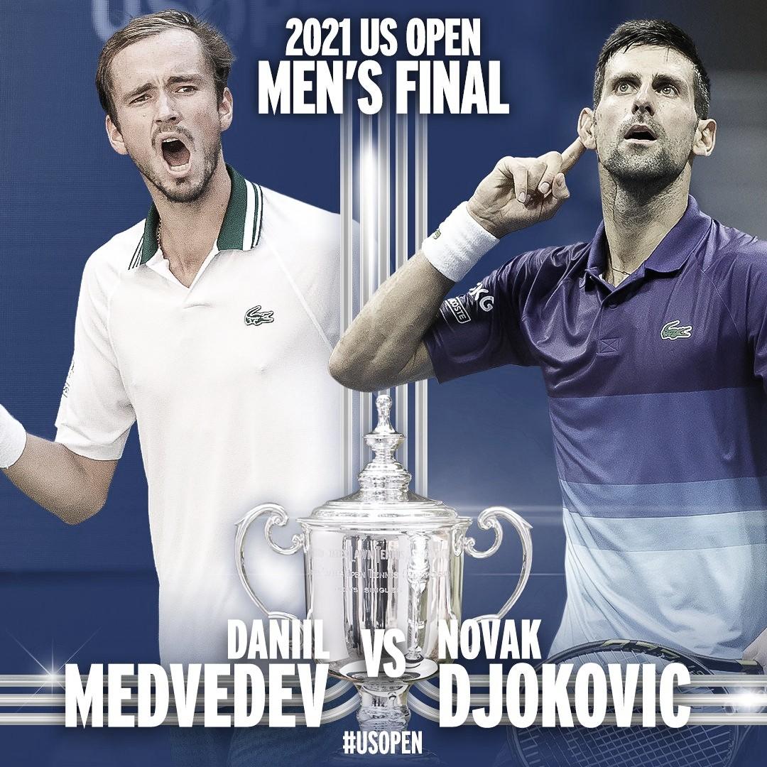 Melhores momentos de Djokovic x Medvedev na final masculina do US Open (0-3)