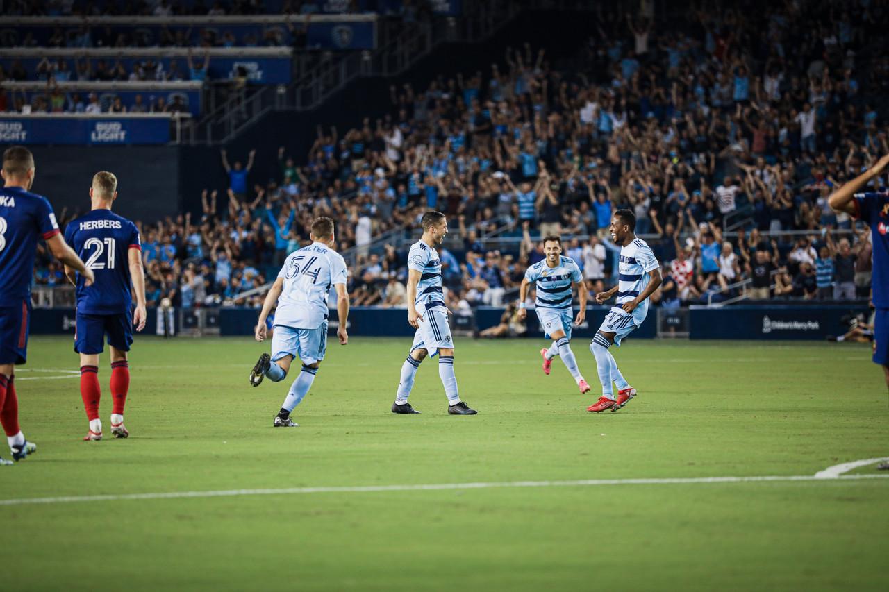 Sporting Kansas City 2-0 Chicago Fire: Sporting KC ends their winless run