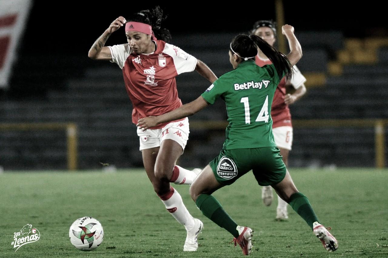 Independiente Santa Fe selló su paso a la final de la Liga Femenina BetPlay tras vencer a Nacional