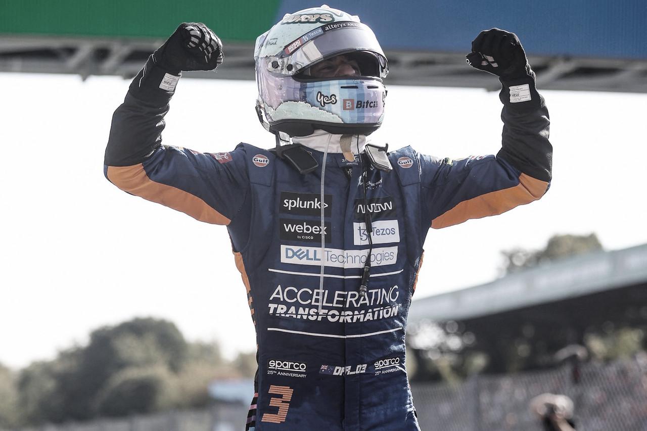 Ricciardo se reencontró con la victoria