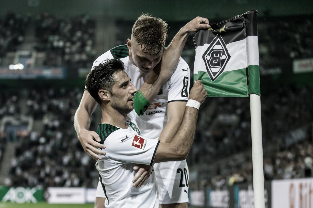 Borussia Mönchengladbach vence Arminia Bielefeld e respira na tabela da Bundesliga