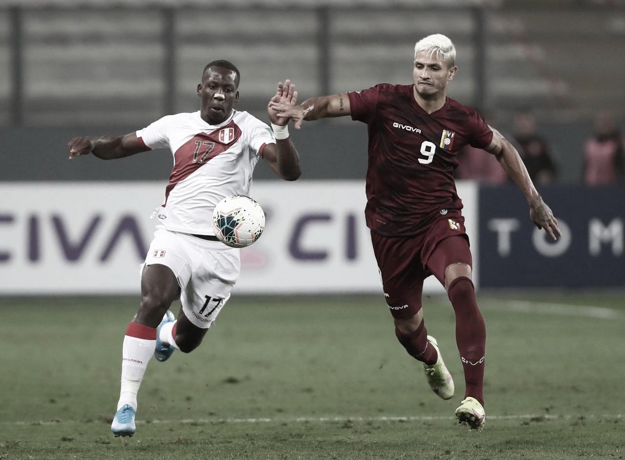Perú 1-0 Venezuela: la blanquirroja está a dos puntos del quinto lugar