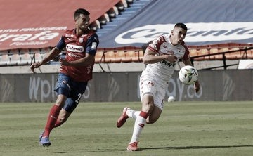Puntuaciones de Santa Fe tras el empate ante Medellín