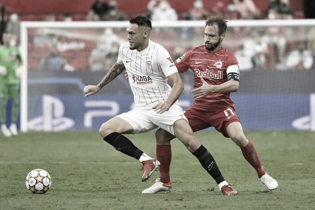 Sevilla FC - RB Salzburg: Puntuaciones del Sevilla FC