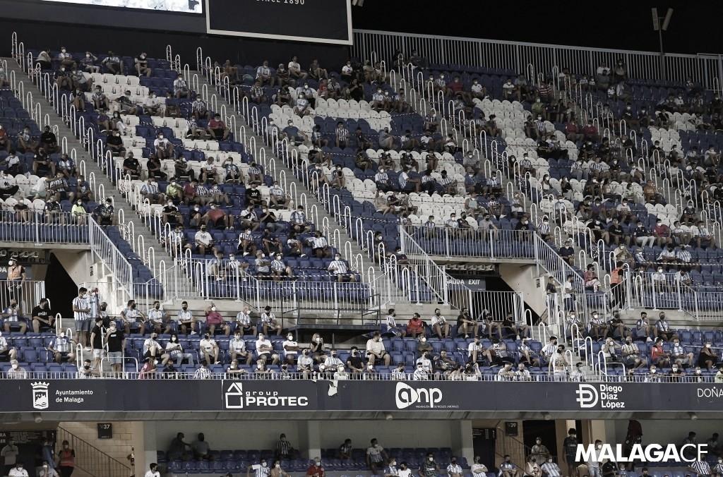 Información detallada sobre la venta de entradas del Málaga - Girona