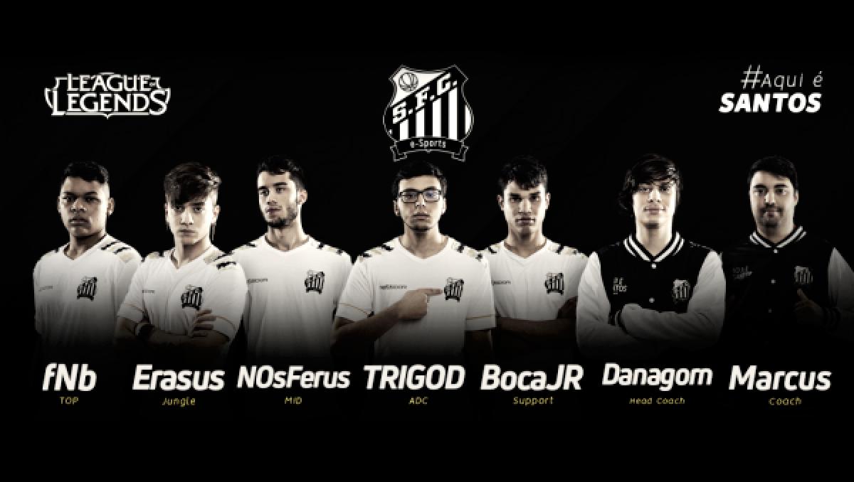 Após 3 anos de ausência no cenário, Santos revela nova equipe de League of Legends