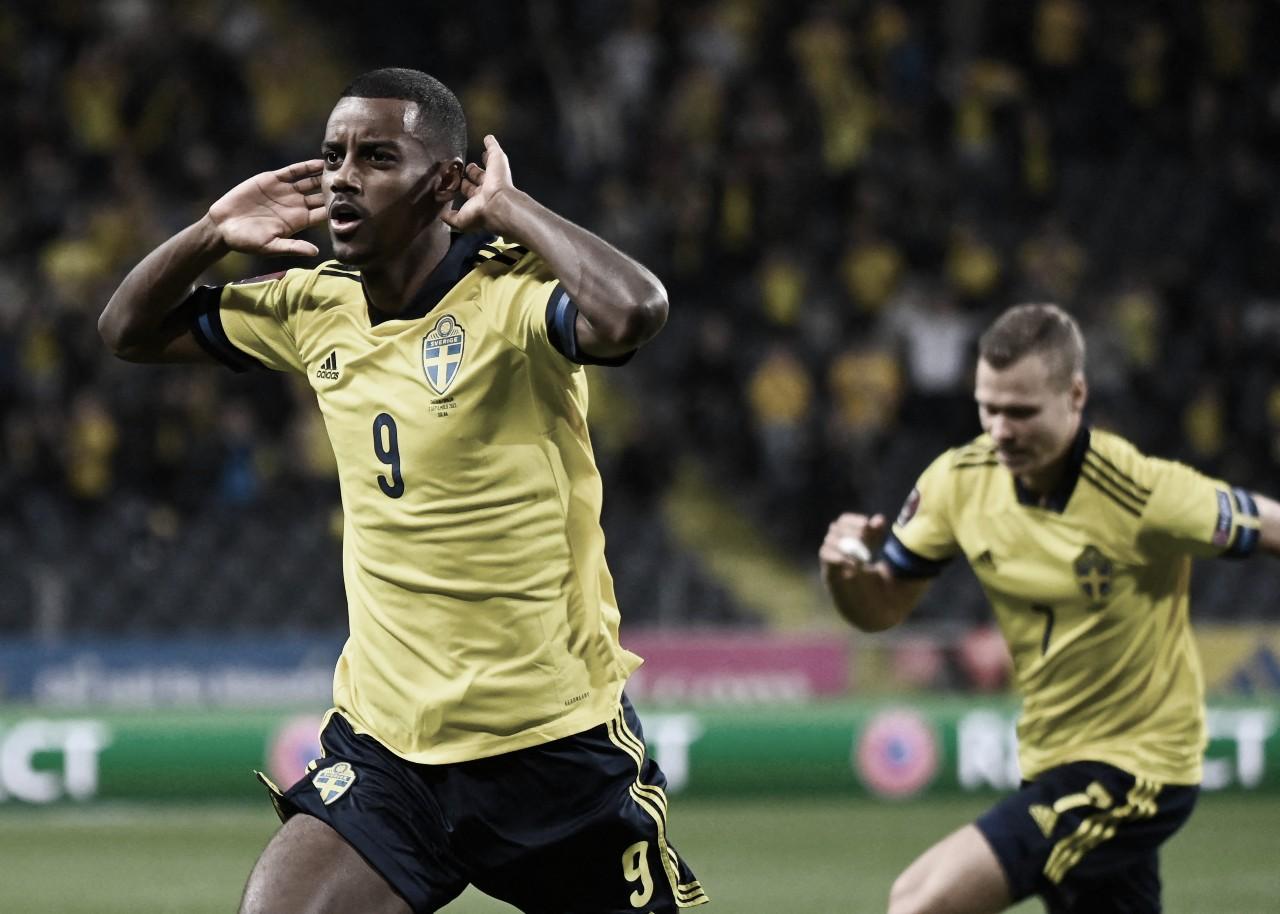 Suecia 2-1 España: 'La Roja' se quedó con las manos vacías