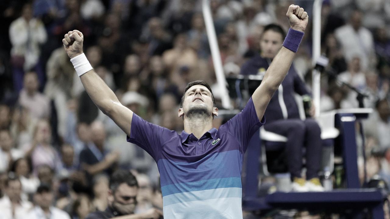 Djokovic vence Zverev em longo jogo de cinco sets e vai à final do US Open pela nona vez