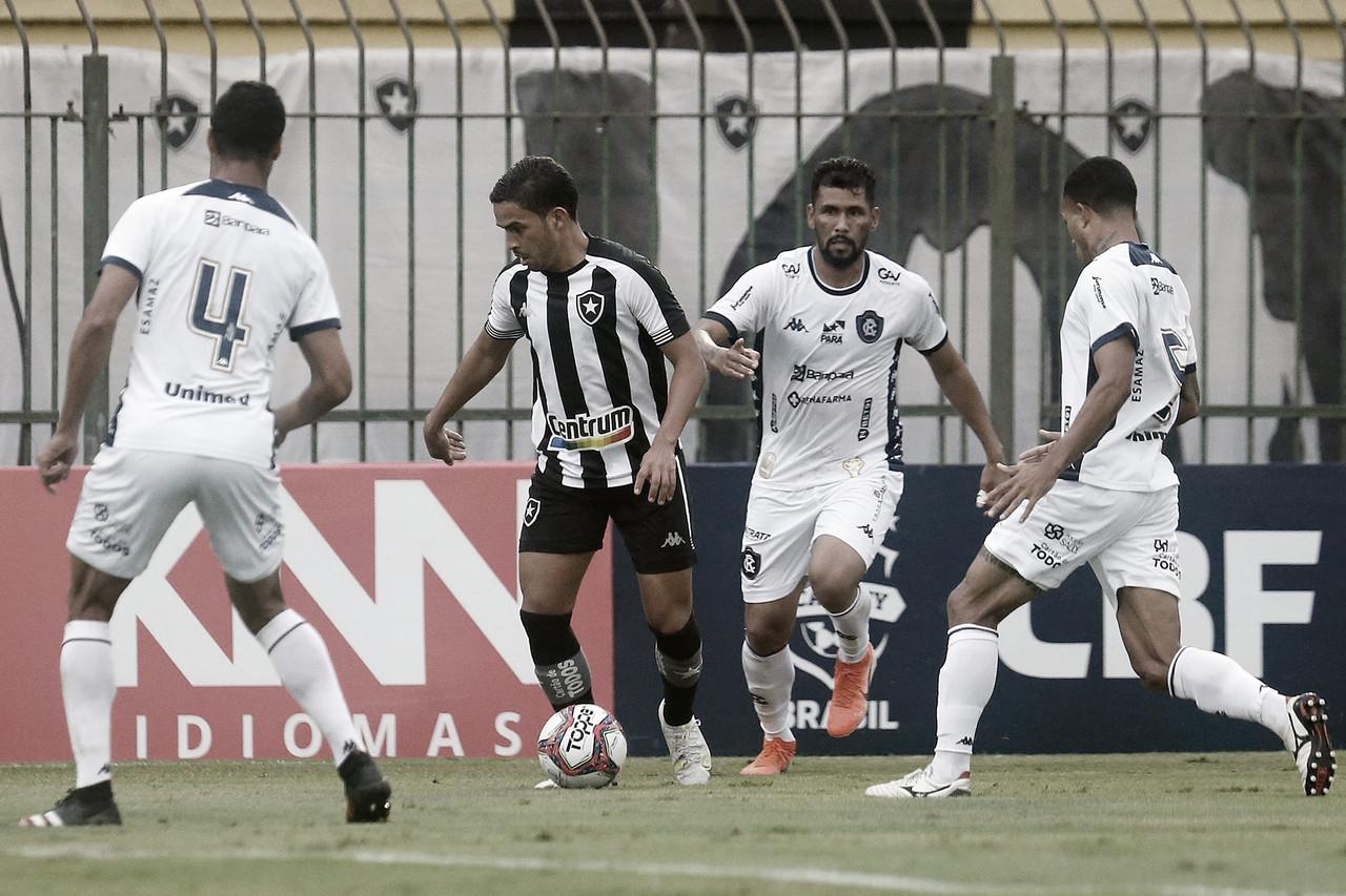 Embalado, Botafogo visita Remo defendendo posição no G-4 da Série B