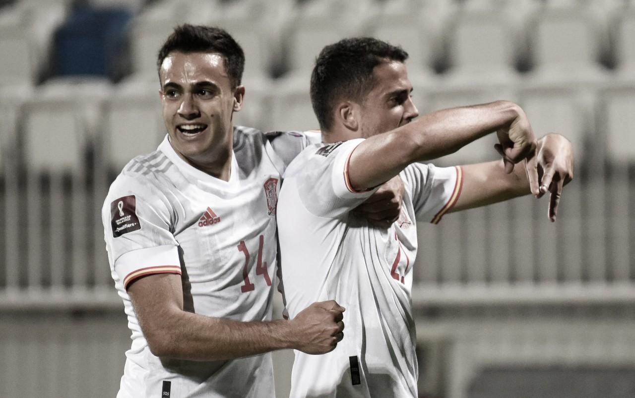 Kosovo 0-2 España: 'La Roja' se mantiene en la cima del grupo B