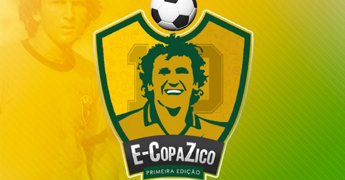 Zico promove Copa de PES com finais presenciais