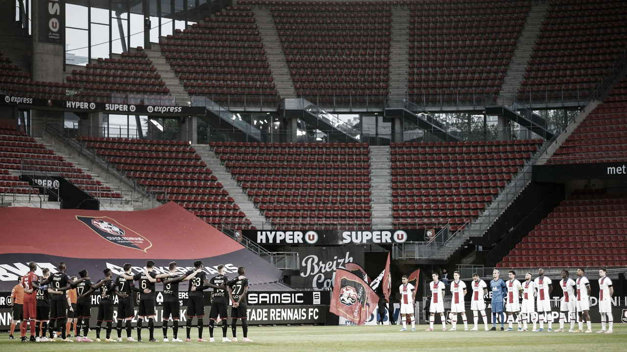 Gols e melhores momentos de Stade Rennais x Paris Saint-Germain (1-1)