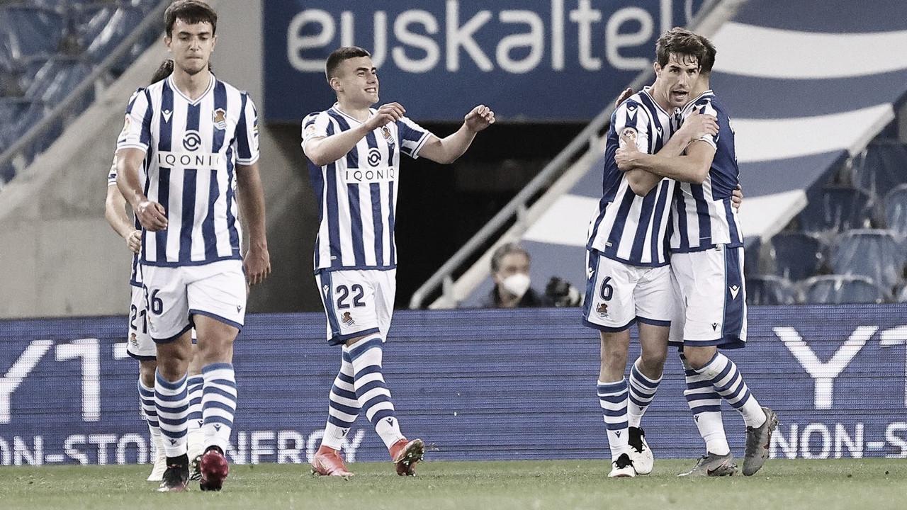 Real Sociedad - Elche: Puntuaciones de la Real Sociedad en la jornada 35