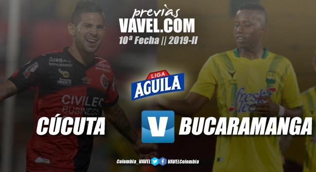 Previa Cúcuta Deportivo vs. Atlético Bucaramanga: tres puntos para encaminar el destino en el semestre