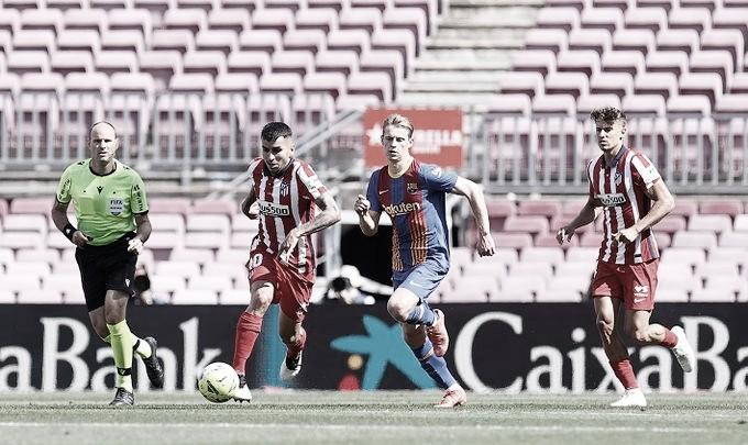 Barcelona e Atlético de Madrid ficam no empate pelo Campeonato Espanhol
