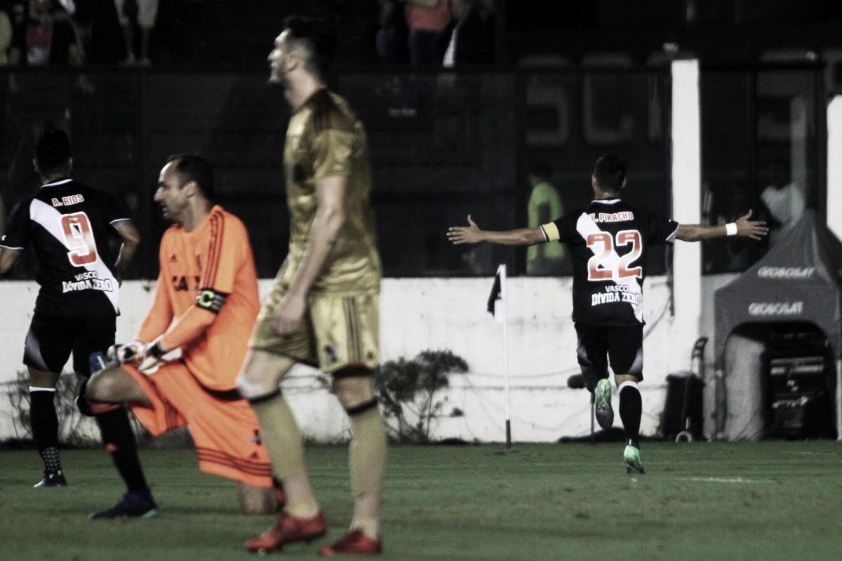Choque do trovão! Yago Pikachu faz dois gols e Vasco vence Sport na estreia de Jorginho