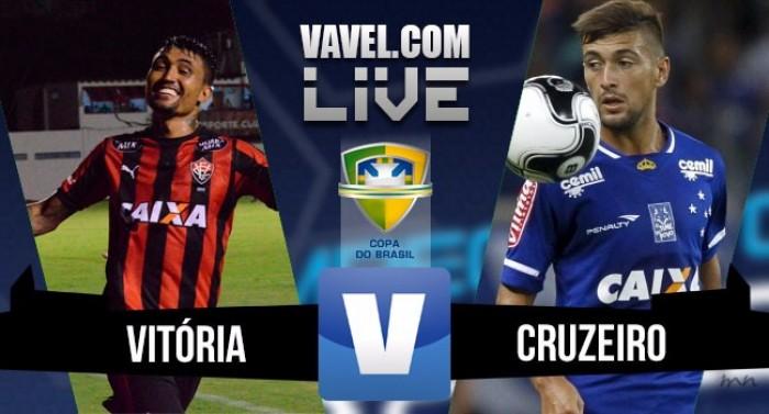 Resultado Vitória x Cruzeiro pela Copa do Brasil 2016 (1-2)