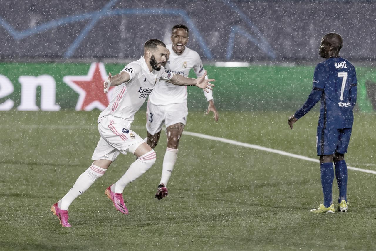 Benzema impide que el Madrid se ahogue