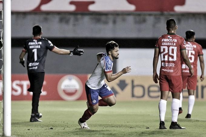 Bahia atropela Deportivo Guabirá em Salvador e lidera Grupo B na Sul-Americana