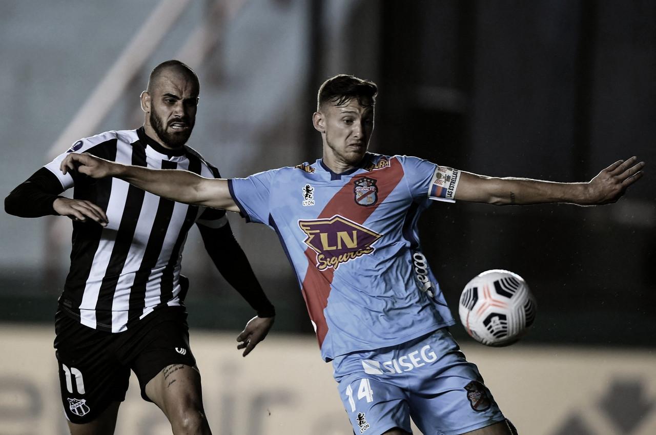 Ceará empata com Arsenal de Sarandí no primeiro jogo oficial fora do Brasil
